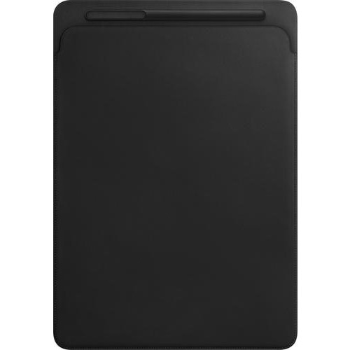 Apple - Leather Sleeve for 12.9-inch iPad Pro (Latest Model) - Black