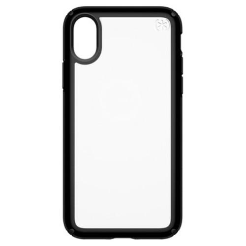 Speck iPhone X Case Presidio Show - Black/Clear