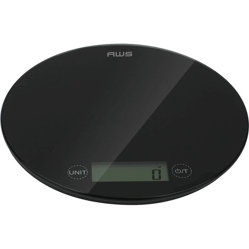 American Weigh Scales - PEPPER Digital Kitchen Scale - Black