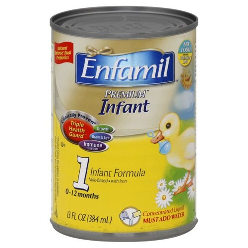 Enfamil Premium Infant Formula, Triple Health Guard, With Iron, Concentrated Liquid, Birth to 12 Months, 13 fl oz (384 ml)