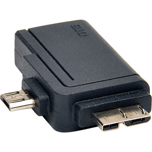 Tripp Lite 2-in-1 OTG Adapter USB 3.0 Micro B & USB 2.0 Micro B to USB A