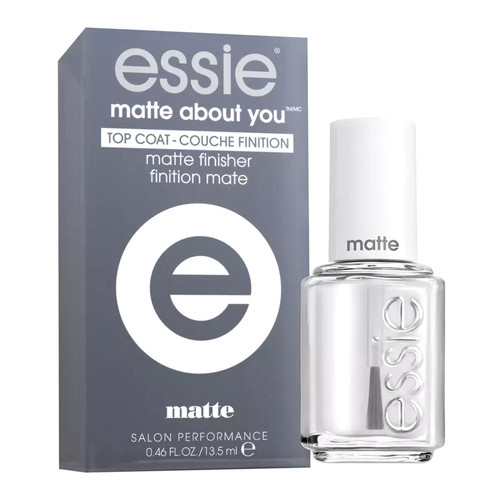 essie Matte About You Top Coat Matte Finisher Polish