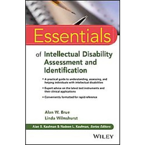 Essentials of Intellectual Disability As ( Essentials of Psychological Assessment) (Paperback)