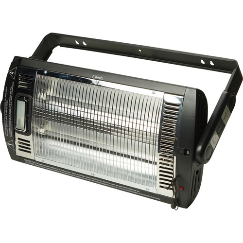 ProFusion Heat Ceiling-Mounted Workshop Heater with Halogen Light  5,200 BTUs, 1,500 Watts,