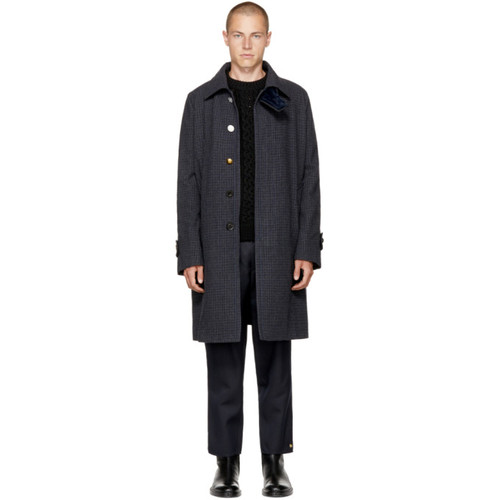 SACAI Navy Gun Club Coat