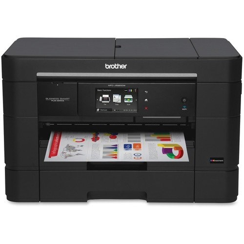 Brother - MFC-J5920DW Wireless All-In-One Printer - Black