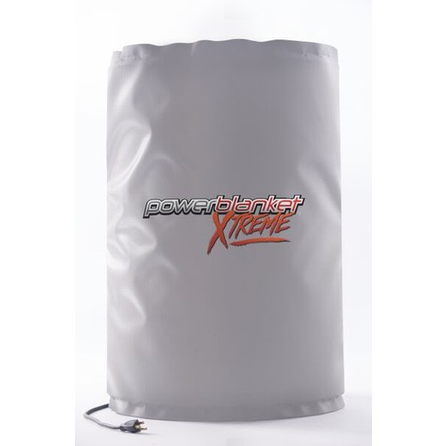 Powerblanket Xtreme BH30RRG 30-Gallon Insulated Drum Heating Blanket w/rugged alloy vinyl shell rated down to - 40 F, Fixed Thermostat 100 F