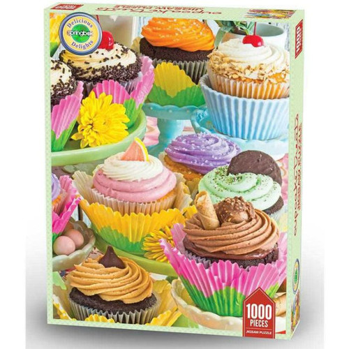 Cupcake Treats 1000 Piece Delicious Delights Jigsaw Puzzle