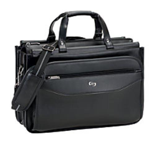 Solo Classic Triple Compartment Briefcase For 15.6