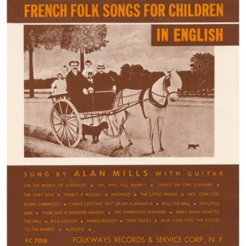 French Folk Songs for Children in English [CD]