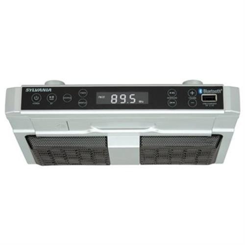 SYLVANIA SKCR2810BT Bluetooth(R) Undercounter Kitchen Radio