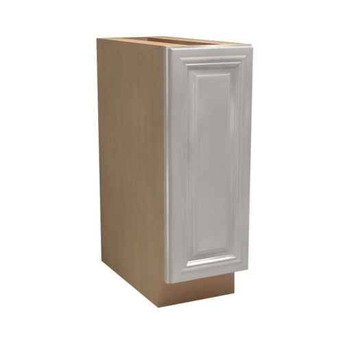 Home Decorators Collection Coventry Assembled 15x34.5x21 in. Single Door Hinge Right Base Vanity Cabinet in Pacific White