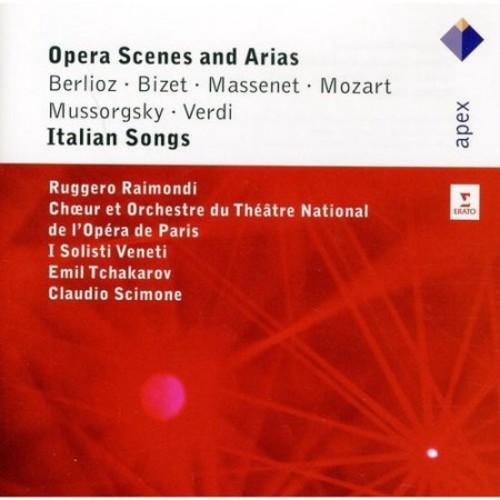 Opera Scenes & Arias: Italian Songs - CD - Various