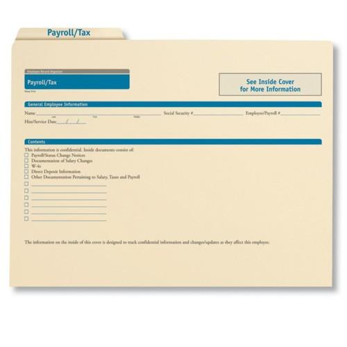 ComplyRight Payroll/Tax Folders, 11 3/4