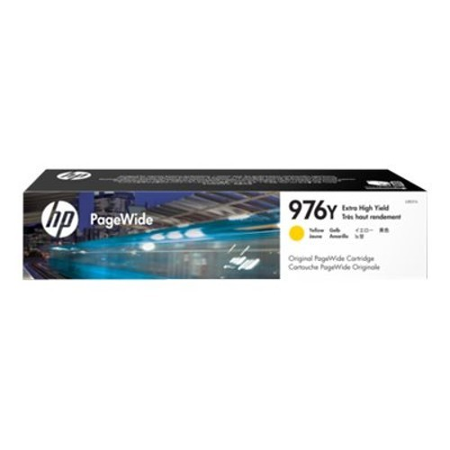 HP Inc. 976Y - Extra High Yield - yellow - original - PageWide - ink cartridge - for PageWide Pro 552dw, 577dw, 577z (L0R07A)