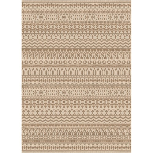 Ruggable Washable Cadiz Natural 5 ft. x 7 ft. Stain Resistant Area Rug