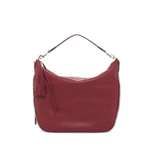 Leather Chain Hobo