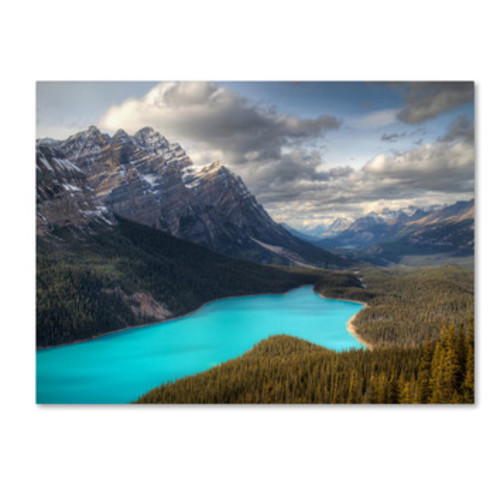 'Peyto Lake' by Pierre Leclerc Photographic Print on Canvas