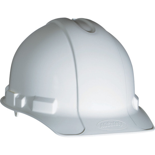 3M Hard Hat with Pin-Lock Adjustment  White,