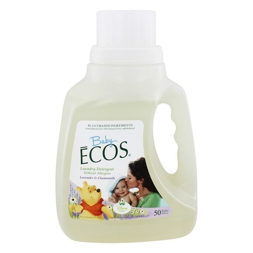 Earth Friendly Products Baby Ecos Laundry Detergent, Lavender and Chamomile, 50 Ounce