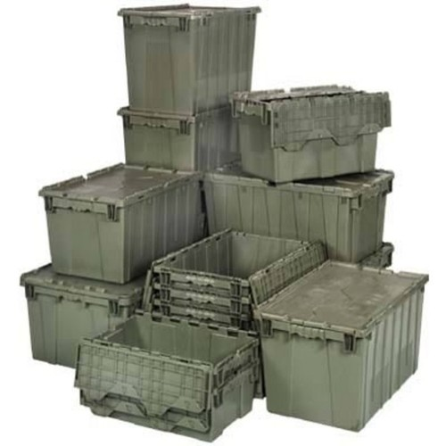 Quantum Storage Heavy Duty Attached Top Container  24in. x 20in. x 12 1/2in. Size