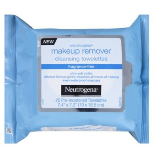 Neutrogena 25-Count Makeup Remover Cleansing Towelettes Fragrance-Free