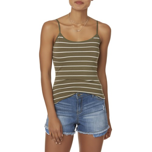 Simply Styled Women's Longline Cami - Striped [Fit : Women's]