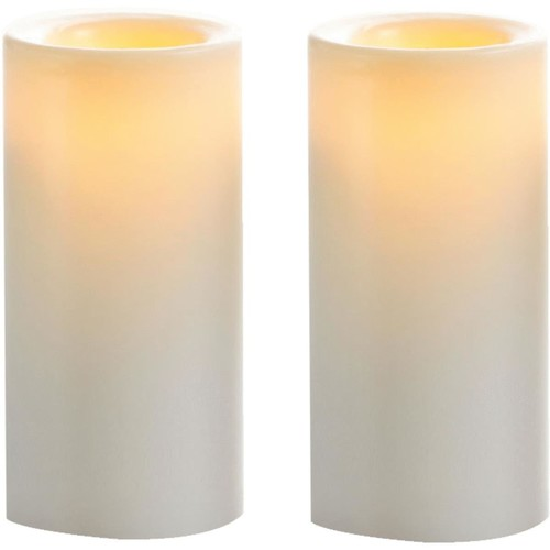 Inglow Wax-Covered Votive LED Flameless Candle - CG10232WH2