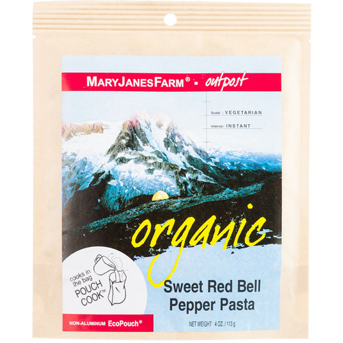 Mary Janes Farm Organic Sweet Red Bell Pepper Pasta