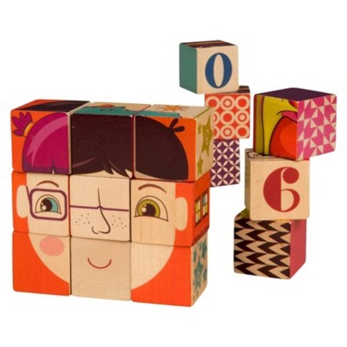 B. Toys B. Puzzled Wooden Blocks 15 Pieces