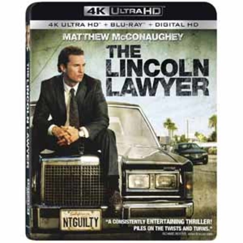 The Lincoln Lawyer [4K UHD] [Blu-Ray] [Digital HD]