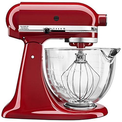 KitchenAid 5-Qt. Tilt-Head Stand Mixer with Glass Bowl and Flex Edge Beater -KSM105 KSM105