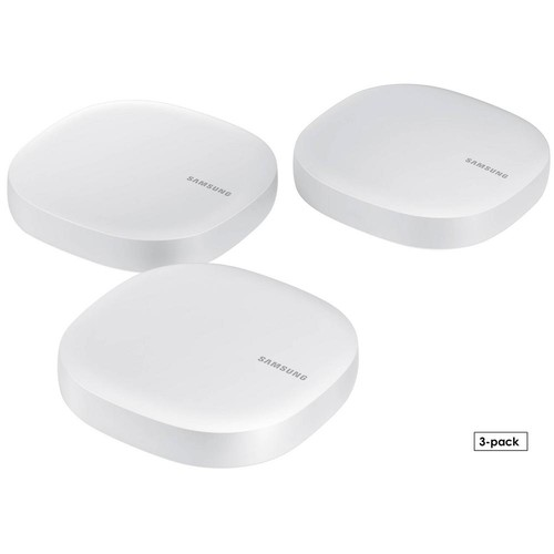 Samsung Connect Home Wireless Router with Built-In SmartThings Hub, White (3-Pack)
