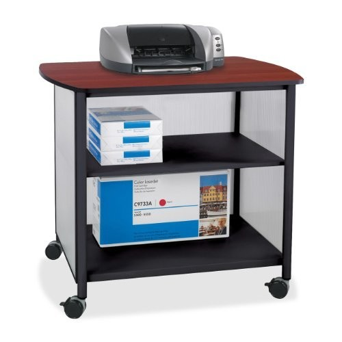 Safco Products 1858BL Impromptu Deluxe Machine Stand, Black [Black]