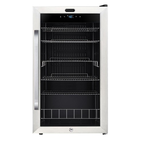 Whynter Freestanding 121-Can Beverage Refrigerator with Digital Control and Internal Fan