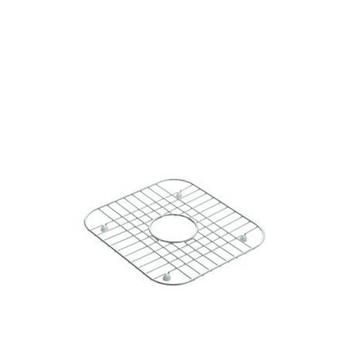 Stainless Steel Bottom Basin Rack For Use with Sterling Middleton, Southhaven, or McAllister Double Bowl Kitchen Sinks