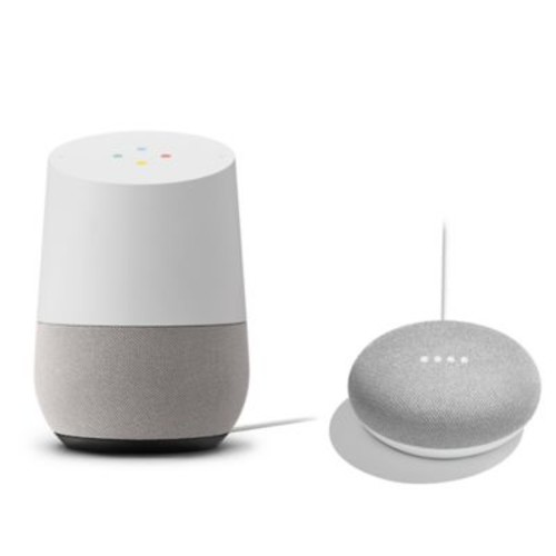 Google Home with Google Home Mini Bundle