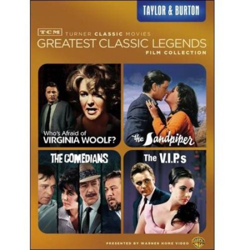 TCM Greatest Classic Films: Legends - Taylor & Burton: Who's Afraid Of Virginia Woolf? / The Sandpiper / The Comedians / The V.I.P.S