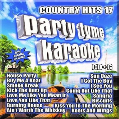 Various - Party tyme karaoke:Country hits 17 (CD)