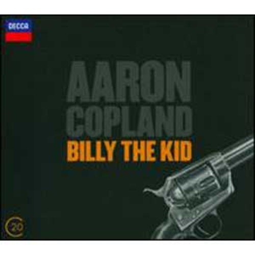 Copland: Billy The Kid; El Salon Mxico By David Zinman (Audio CD)