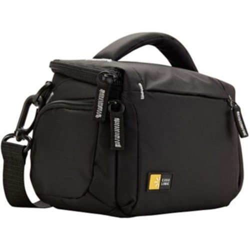 Case Logic TBC-405-BLACK Carrying Case for Camcorder, Camera, Lens, Battery, Accessories, Black