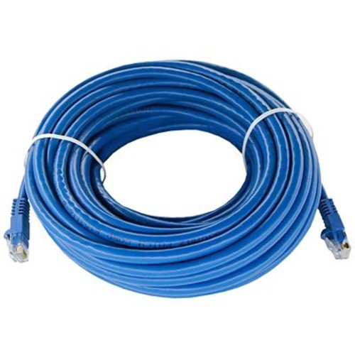 Shaxon UL724M850BU-8FB 50' CAT-6 Patch Cord, Blue