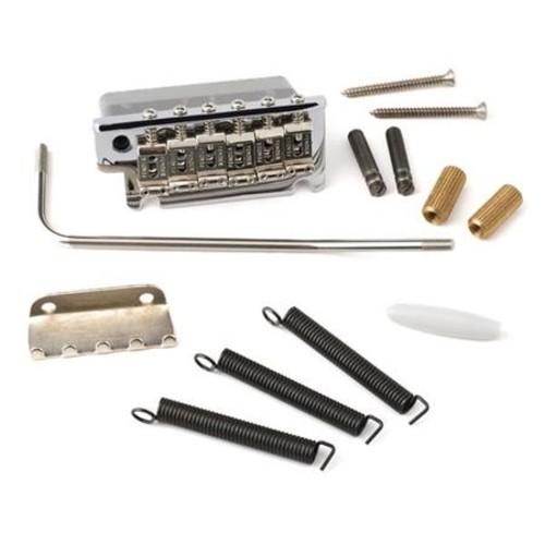 Fender Bridge Assembly for Stratocaster Guitars ('08-Present), Chrome 0075091049