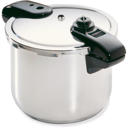 Presto 01370 8-Quart Stainless Steel Pressure Cooker [Silver, One Size]
