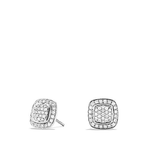 'Albion' Earrings with Diamonds