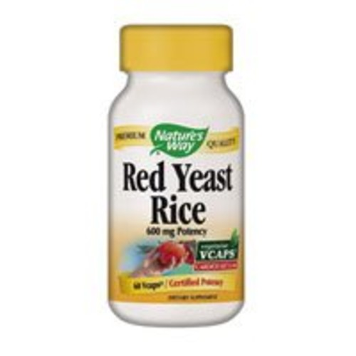 Nature's Way Red Yeast Rice 600mg, 60 Vcaps [60]