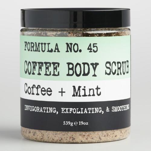 Coffee and Mint Body Scrub
