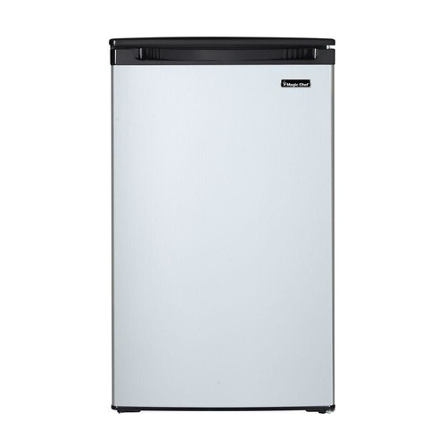 Magic Chef 4.4 cu. ft. Mini Refrigerator with Freezerless Design in Stainless Steel