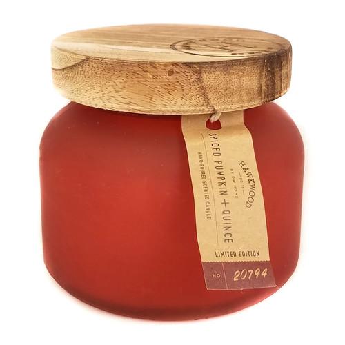 Hawkwood Spiced Pumpkin & Quince 5.92-oz. Candle Jar