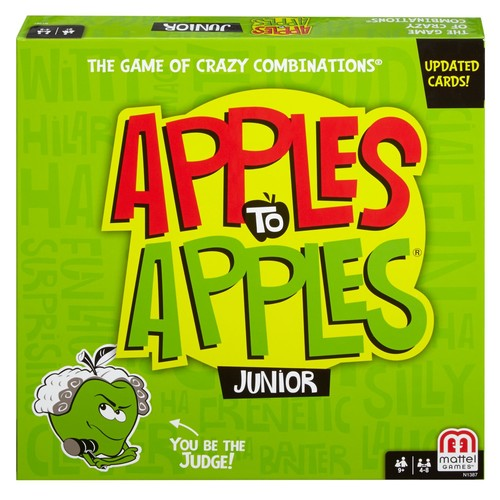 Apples to Apples Junior - The Game of Crazy Combinations!  Styles May Vary [Apple to Apples]